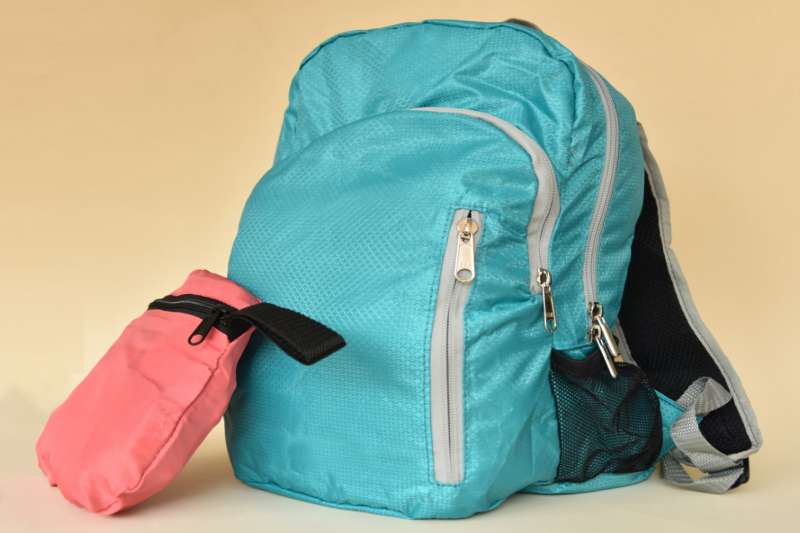 Morral plegable